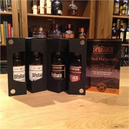 BenRiach Classic & Peated Collection 4x5cl